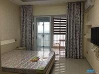 出租 友创滨河湾公寓 精装修 一室一厅 1200元/月 拎包入住 看房方便