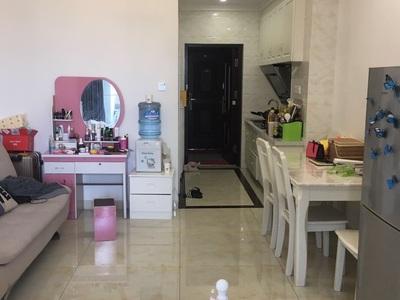 出租 坎北滨河湾公寓 一室一厅 1200元/月 拎包入住