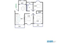 华德精品住所,优质楼层,精致装修,家电齐全,送汽车库