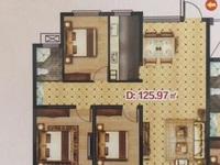 急售港利国际商城23楼3房2厅1厨2卫南北通透采光无敌户型周正小区环境优美楼层佳