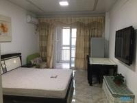 出租 友创滨河湾公寓 精装 一室一厅 1200元一月 拎包入住