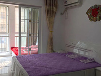 出租 友创滨河湾公寓 精装一室一厅 1100元一月 拎包入住