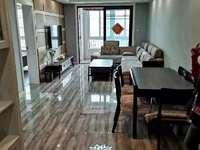 万锦豪庭 黄金楼层2室2厅 全新装修 拎包就住 1600/月