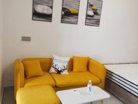 出租友创 滨河湾精装单身公寓,家电齐全拎包即住,1300一个月可随时看房