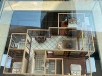 出售华芳颐景小区3室2厅2卫142.4平米135.8万住宅,送车库