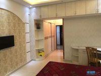 包物业费友创 滨河湾9楼精装单身公寓家电齐全拎包即住,1300一个月,可随时看房
