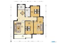 出售中央花园精装3室2厅1卫125.3平米170万住宅