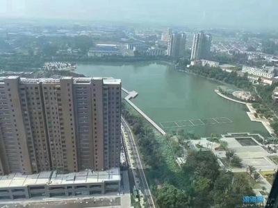 悦府前排湖景房 满二年 送自行车库 精装修 三房 120万